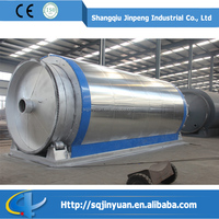 Waste Plastic recycling Plant with fast speed and good oil quality
