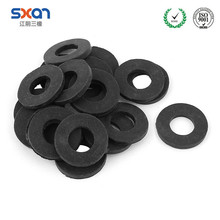 Custom Made Flat Silicone Thin Washer Rubber Stopper Washer