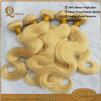 New Products Free Sample Brazilian Human Virgin Hair Body Wave Weaving 10a Blonde Hair Bundles