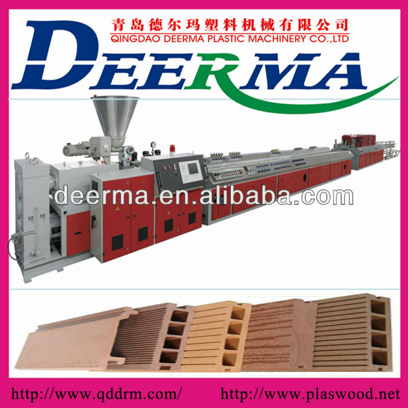 wood plastic pallet production line/machine manufacturer