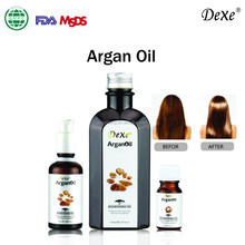Pure natural cosmetic argan oil for skin and hair care