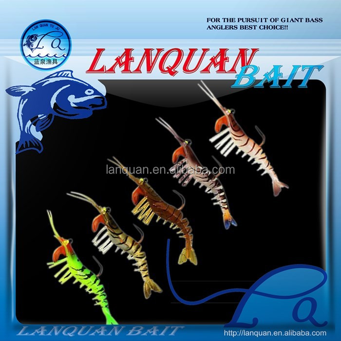 LANQUAN 2016 new soft shrimp fishing lure-LQSL1331