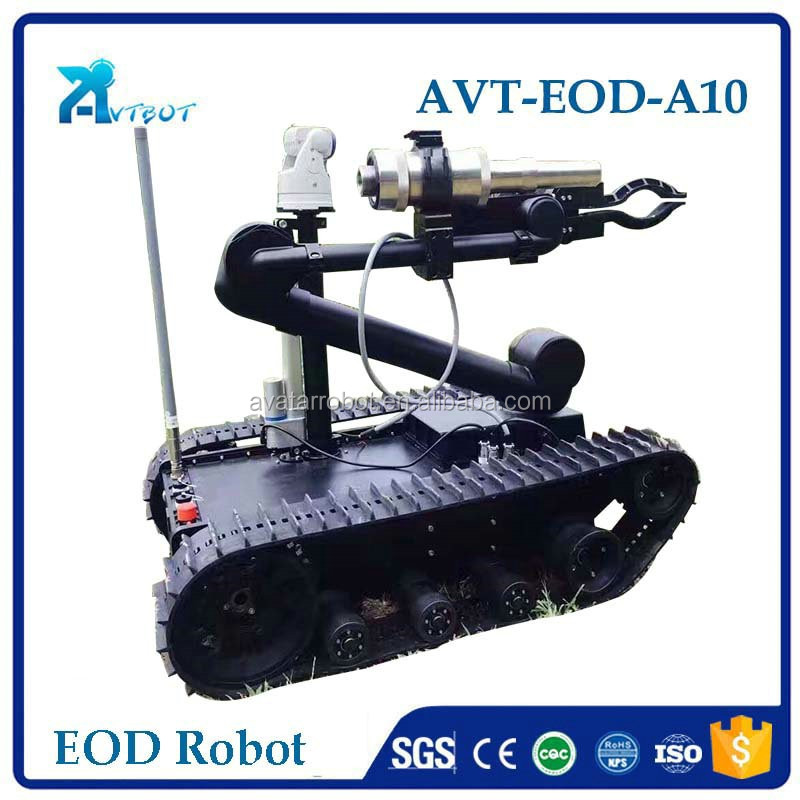 explosion detecting military using eod robot for sale