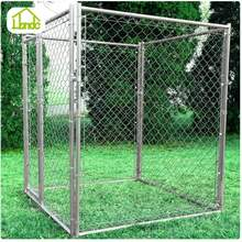 Small MOQ Rational Construction Stocked Dog Kennel Wholesale Modular Dog Kennel