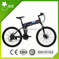 2016 New designed 26inch 36V 250W coyote connect folding electric bike