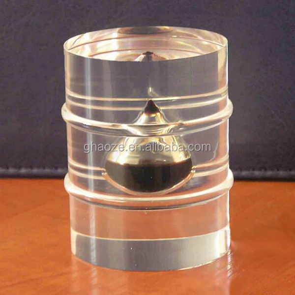 Custom Clear Reisn Souvenir Oil Drop Paperweight Factory