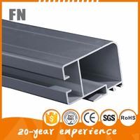OEM anodized heatsink aluminum profile , 6061 Alloy aluminum profile for big tent radiator