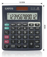 12 digits 112 Steps Check & Correct TAX Electronic Calculator