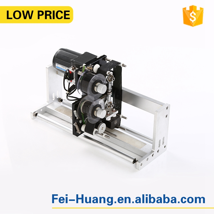 Automatic synchronization tracking ribbon thermal coding machine, electric date coder printer