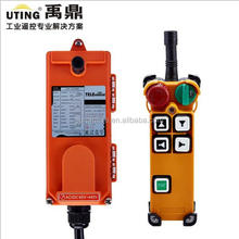 Ningbo Uting usb programmable universal remote control F21-4D remote control for concrete pump