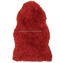 China factory synthetic faux fur sheepskin shaggy carpet