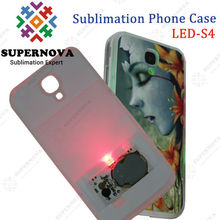 Blank Sublimation LED Cell Phone Cover for Samsung Galaxy S4(i9500)