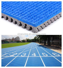 Prefabricated Rubber Sport Athletic Track Surface, IAAF Certified,Huadongtrack,la Pista de Atletismo