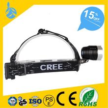 2 Years Warrantee Multifunctional powerful waterproof head lamp rechargeable