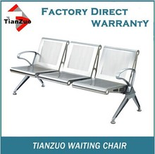 WL700 -03 modern tainless steel three seats waiting room office chairs