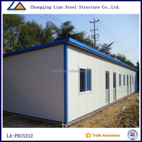 Mobile Ready Made Fiber Prefab House Prefabricated For Sale