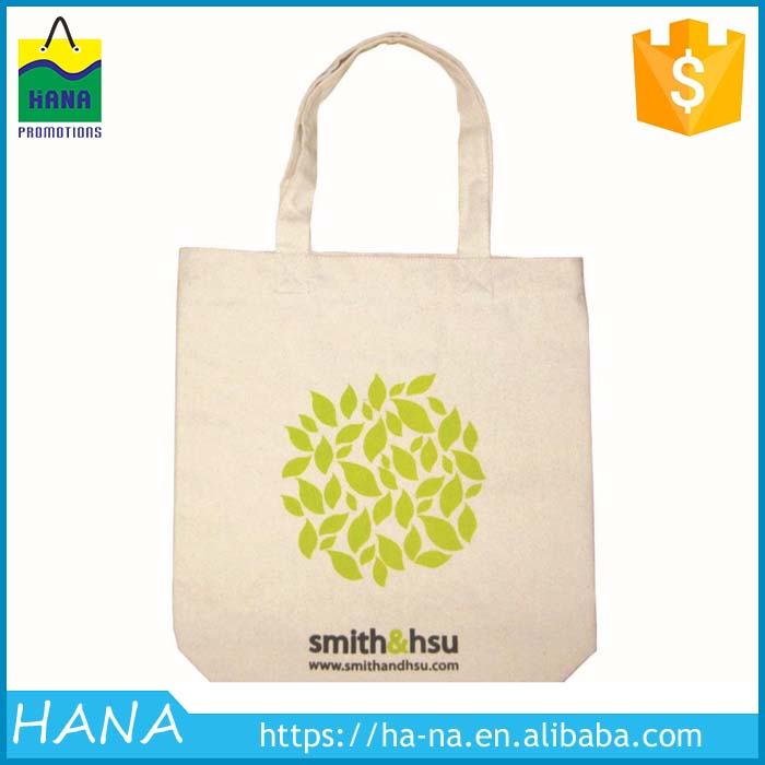 Wholesale Eco Silk Screen Printing Cotton Tote Bag