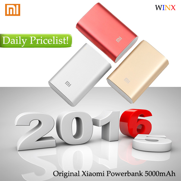 2016 Good price original xiaomi powerbank 10000mah! Contact me for Daily Good Pricelist!