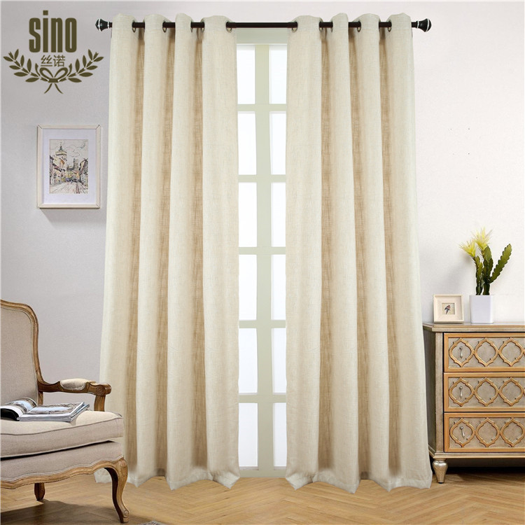 Ready Made luxury hotel window blackout curtain