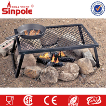 Smoke free charcoal bbq grill heavy-duty, for camping rectangular charcoal bbq grill