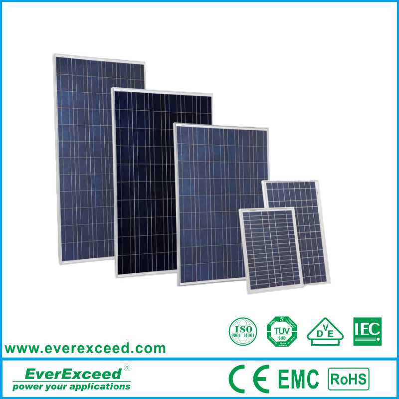 EverExceed Polycrystalline 150 watts chinese solar panels for sale