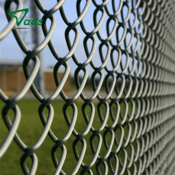 wholesale chain link fence per sqm weight galvanized or PVC coated chain link fencing