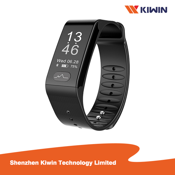 Fitness Tracker Blood Pressure ECG PPG Monitoring Smart Bracelet From China Manufacture