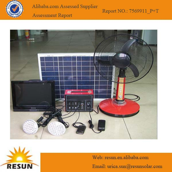 Hot sale solar fan & lighting system
