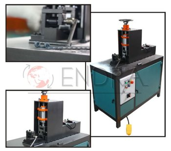 AUTOMATIC HYDRAULIC COIL ROLLING MACHINE (END FOLDING)