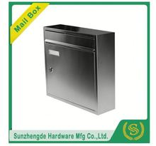 SMB-003SS New Model Custom Made Stainless Steel Combination Standing Mailbox