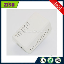 Wall mount wifi equipment homeplug plc powerline network adapter