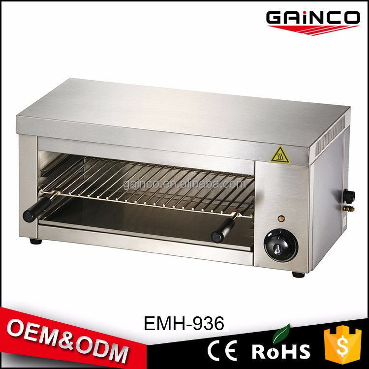 Electric salamander griller cooking equipment/salamander catering machinery