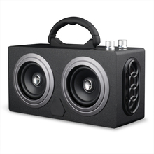 Outdoor speakers with fm radio speaker
