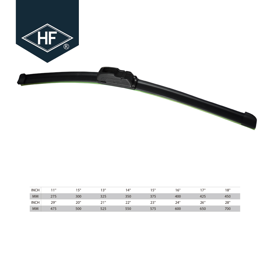 Wholesale Car Universal Soft Rubber Coated Windshield Wipers blade 93183143 bus blade wiper for opel