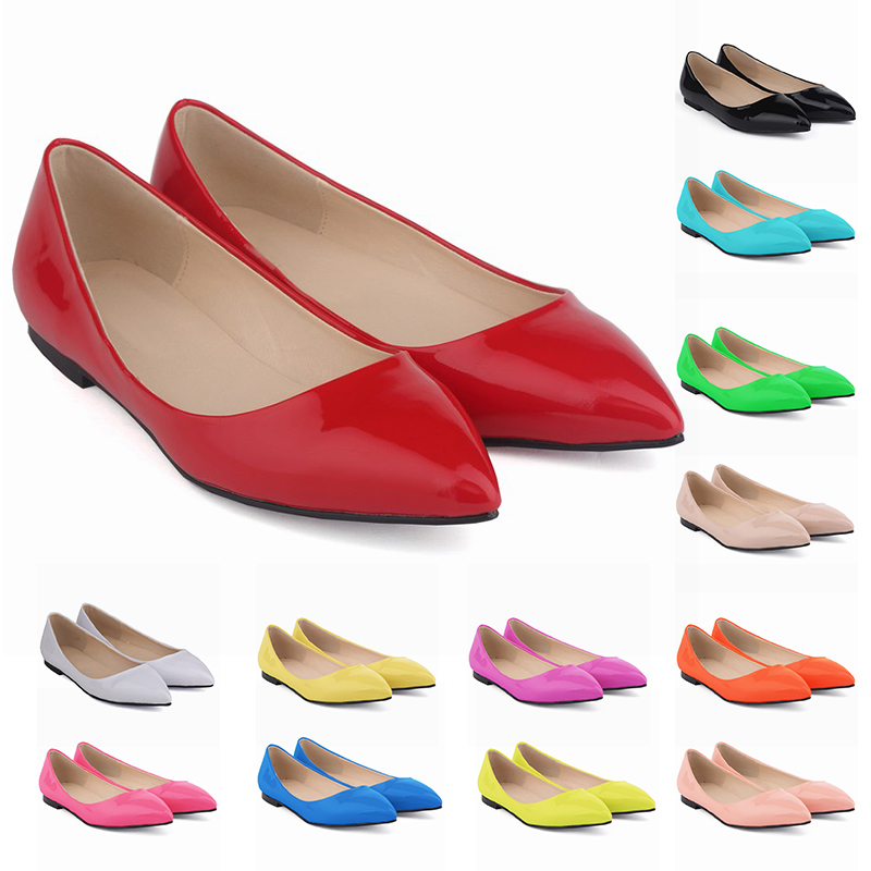 Hot sale new design OEM ODM latest design bulk ballet flat shoes