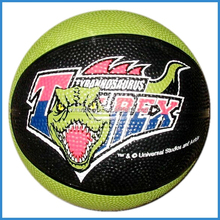 Good bounce rubber basketball size 3 for game