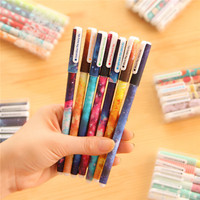 fashion design stationery product wholesale high quality pens water color best cheap gel pen
