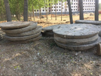 Antique old granite Stone millstone for sale