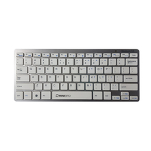 USB good look metal thin short silent chocolate key wireless bluetooth keyboard without number pad