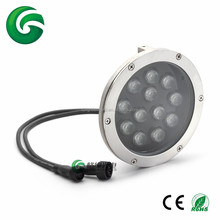 High quality stainless steel 12*3W <strong>RGB</strong> 3in1 LED Underwater Light for outdoor water decoration