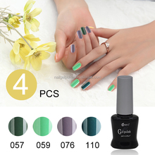 ransheng fashion nail art soak off uv gel nail polish