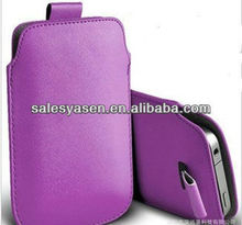 Fashion design wallet leather pouch for samsung galaxy S2 i9100