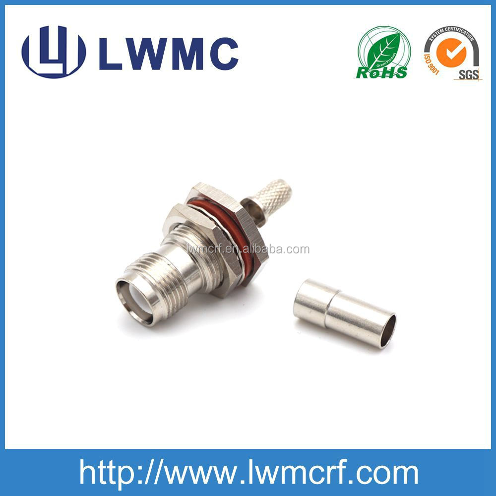 m12 male to female connector bulkhead