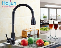 UPC 61-9 nsf pull out Vandal resistant brass motion faucet kitchen equipment