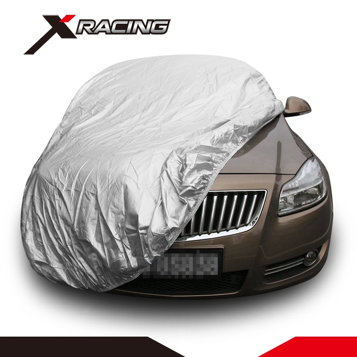 Spire waterproof snow proof steel wire sun shade half car cover