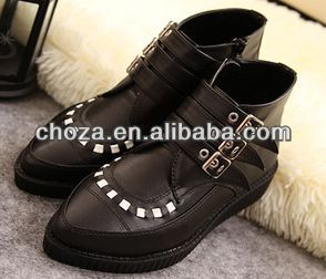 C50177S AUTUMN NEW STYLE POINTY MARTIN LADIES BOOTS