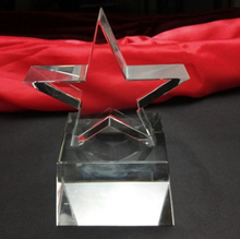 Noble Crystal Optical Crystal with Shiny crystal Star Award Trophy