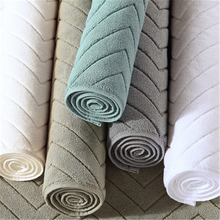 80% polyester and 20% nylon plush terry knitting microfiber floor cleaning towel
