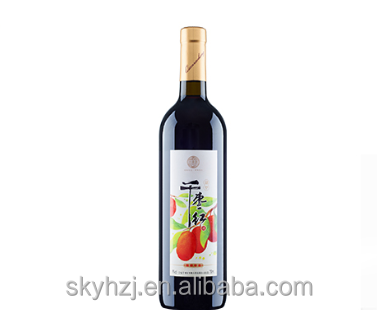 jujube wine ,medium sweet red wine