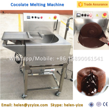 Chocolate Melting Tempering Processing Machine with Vibrating Table